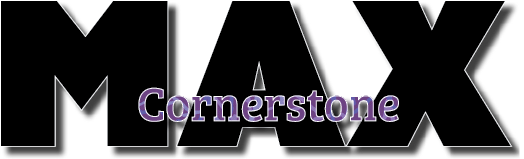 cornerstone max logo