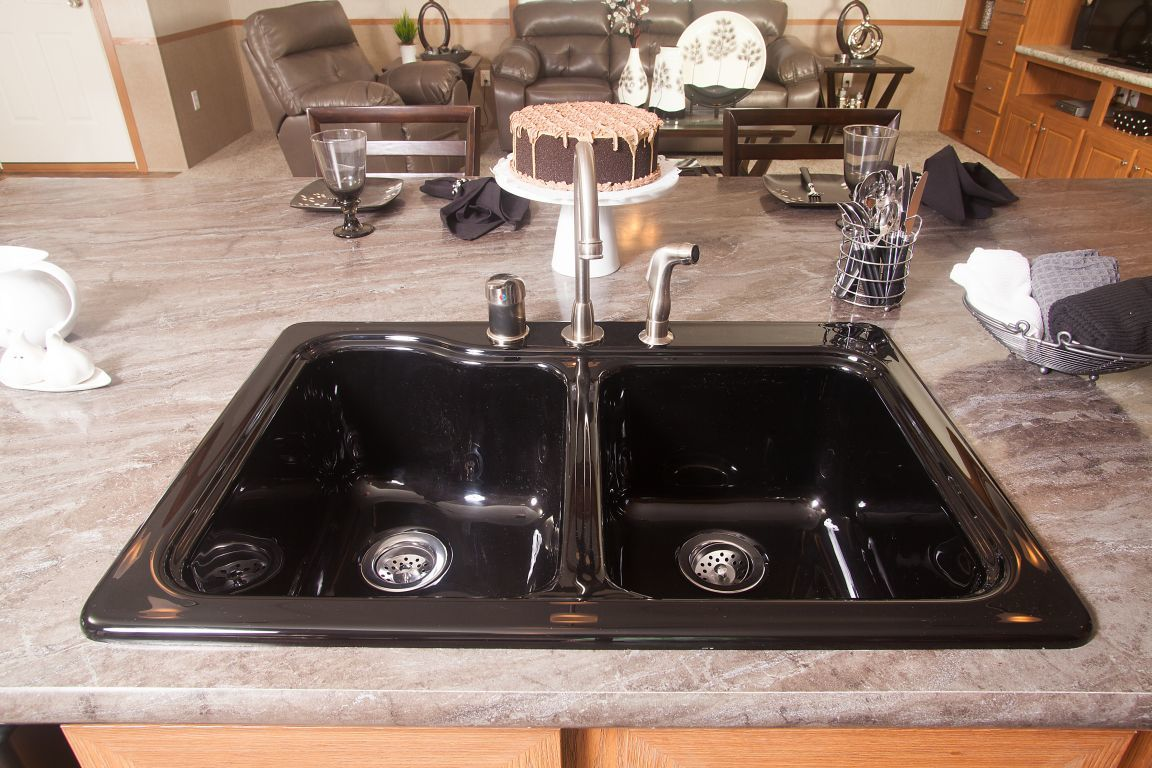 Raised Kitchen Sink | Colony Homes