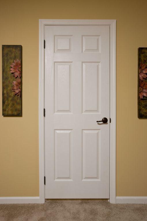 White 6 panel doors colony homes 6 panel hardwood interior doors