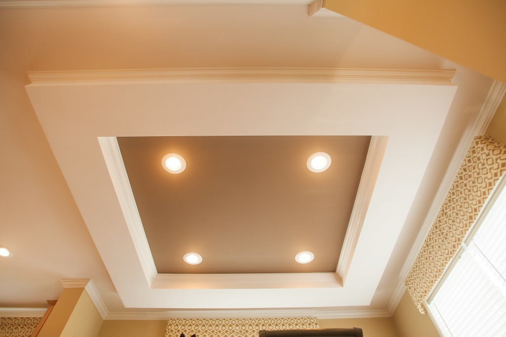 Accent Tray Ceiling Colony Homes