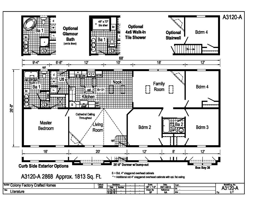 Eastland Ranch A3120a Find A Home Colony Homes Actually Prefer To Get Several Copies Of My Floor Plan And Draw Each The Is Popular Series For Those Who Would Like Few More Design Color Choices At Their Disposal