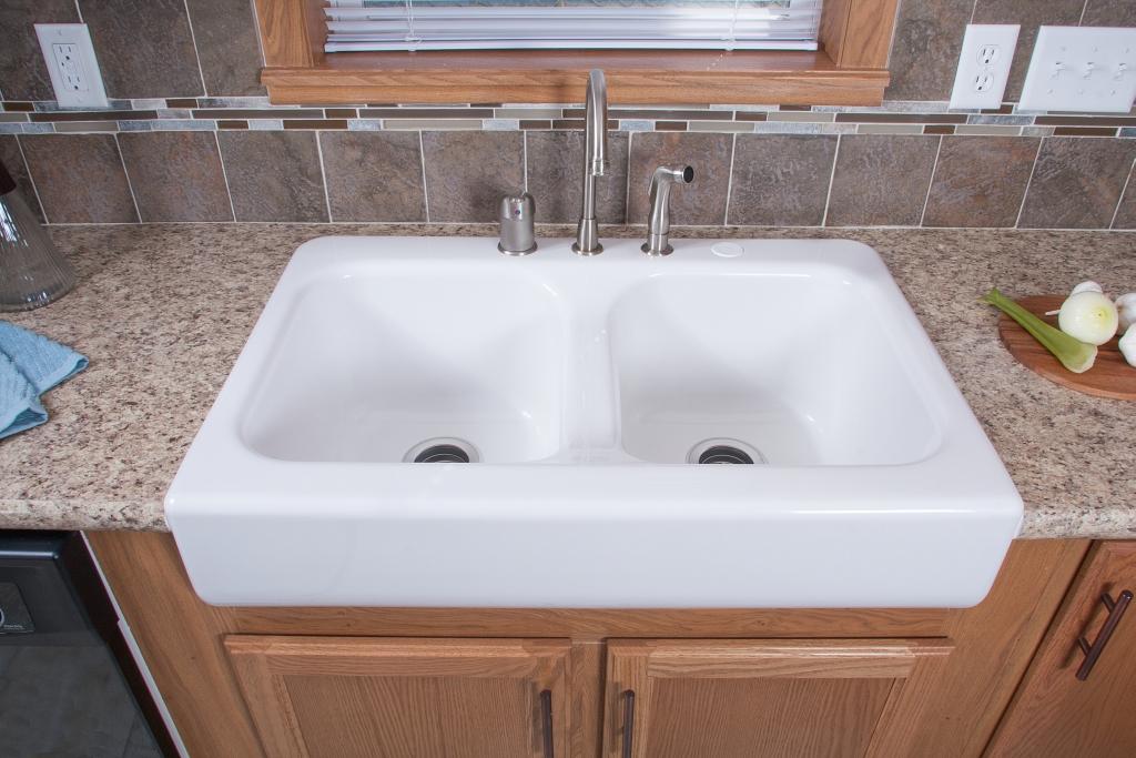 Top Mount Copper Kitchen Sink