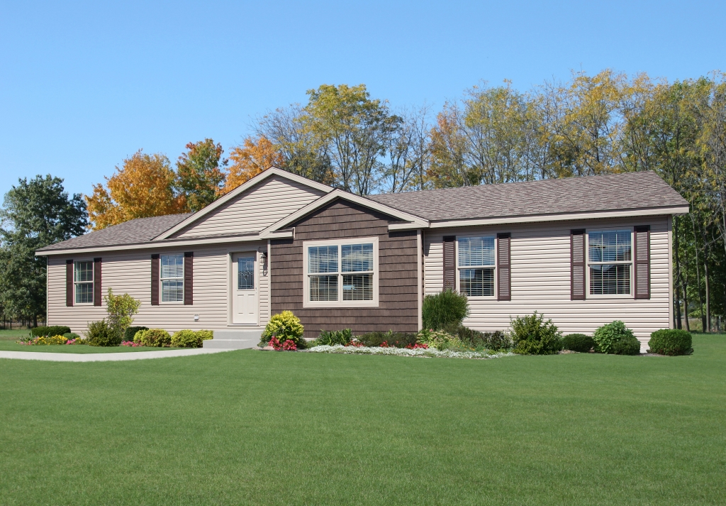 Cornerstone modular ranch cn319a find a home for L shaped modular homes