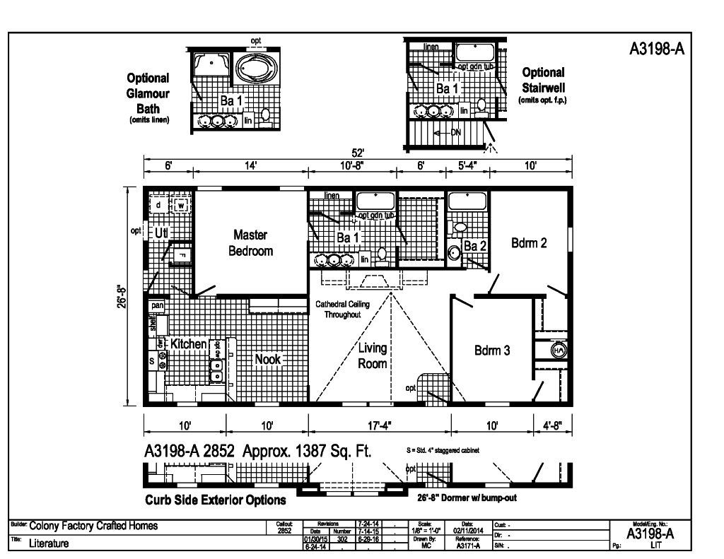 Eastland Ranch A3198a Find A Home Colony Homes Actually Prefer To Get Several Copies Of My Floor Plan And Draw Each The Is Popular Series For Those Who Would Like Few More Design Color Choices At Their Disposal