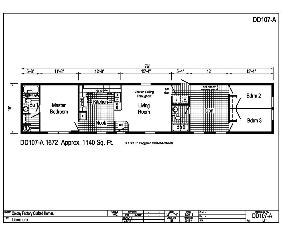 National Homes Corporation Floor Plans Choice Image Home Gallery Fixtures